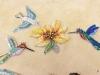 Animali, composizione con fiore
