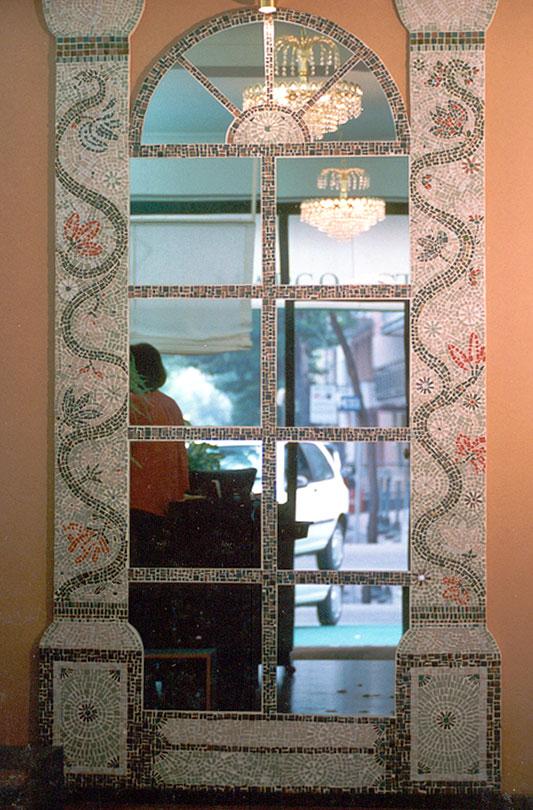 Design e architettura mosaico a rimini e pesaro - Caf porta rimini pesaro ...