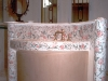 Lavandino a mosaico