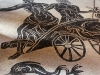 Domus del Mito: carro del trionfo con Nettuno e Anfitrite