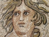 Particolare pavimento a mosaico